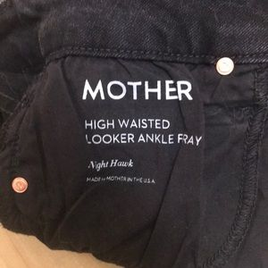 MOTHER Jeans - MOTHER Denim High Waist Looker w. Fray Hem NWOT